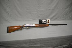 "WINCHESTER MD. 50 SEMI-AUTO SHOTGUN - 12 GA.  - 2 3/4"" - 30"" FULL PLAIN BARREL - EXCELLENT CONDITION - VERY LIGHT WEAR - WALNUT STOCK & FOREARM - SHOWS SOME CARRY WEAR, SCRATCHES AND MARKS"