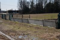 "(7) CONCRETE ""J"" STYLE FEED TROUGH -TAKE ALL (7 X MONEY) - SOUTH SIDE LANE ON TRACT 7"