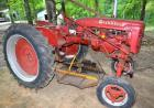 1940 FARMALL AV CULTIVISION TRACTOR, SERIAL #9238 ** View Video**