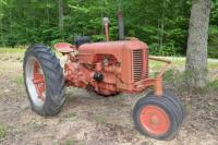1950 CASE DC TRACTOR, 33 HP, PTO AND DRAWBAR