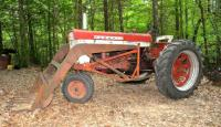 FARMALL 460 TRACTOR,** View Video** HYDRAULIC FRONT LOADER WITH