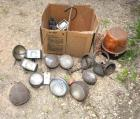 OLD TRACTOR LIGHTS, USED, ASSORTMENT