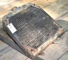 TRACTOR RADIATOR, USED, DAMAGED