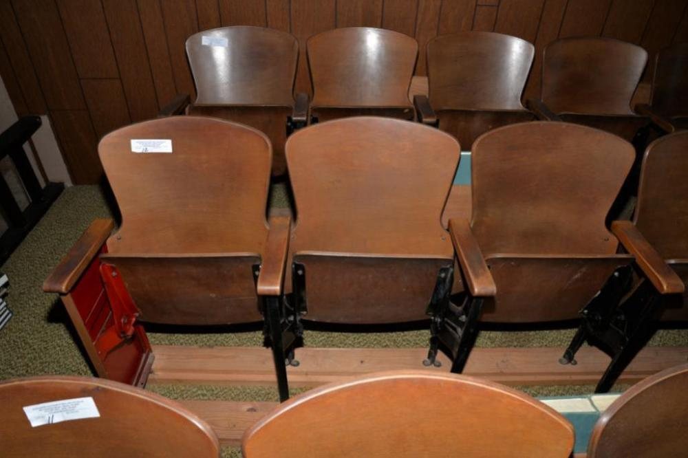 Outstanding 6 Theatre Style Folding Chairs Attached And Caraccident5 Cool Chair Designs And Ideas Caraccident5Info