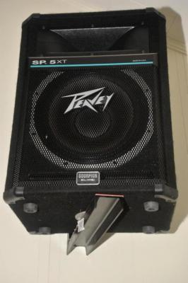 (2) PEAVY SP5XT SPEAKERS SCORPI0N EQUIPPED AND