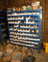 ASSORTED INVENTORY OF CAPS & BOLTS AND (7) BOXES